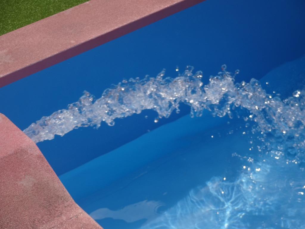 水をたくさん!!ぷーるだよ~