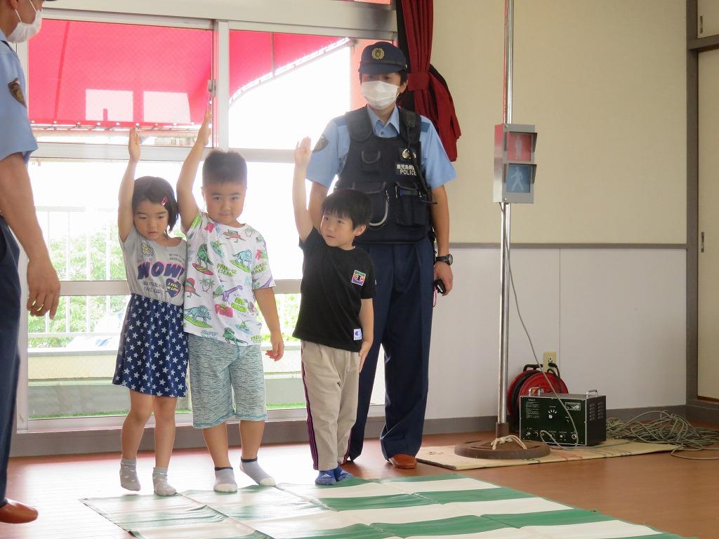 交通安全教室🚔(にじ・ほし)
